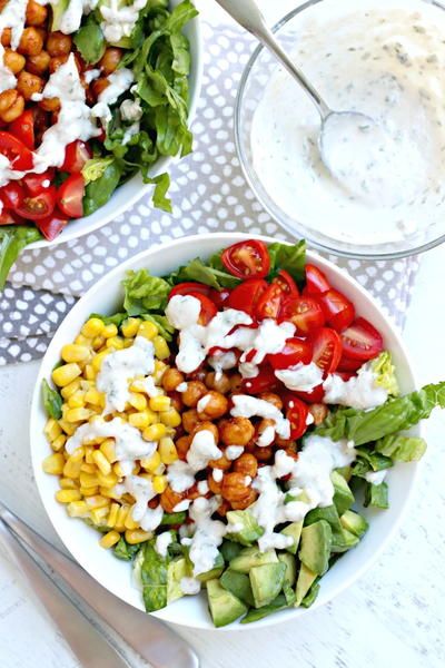 BBQ Ranch Chickpea Salad