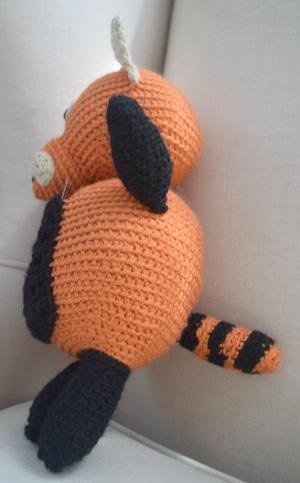 Amigurumi red panda pattern. Amigurumi pattern. Crochet pattern ... | 483x300