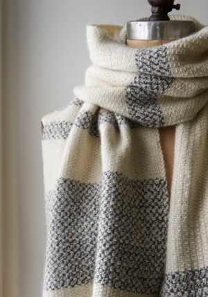 Peppered Stripes Scarf