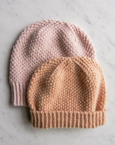 Fluffy Brioche Hat