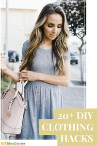 20+ DIY Clothing Hacks: DIY Clothing Ideas, Repairing Clothes, and More