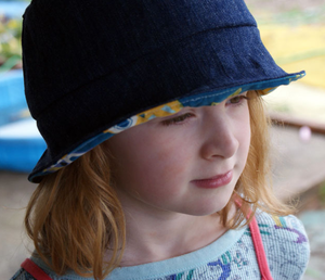 DIY Kids' Sun Hat