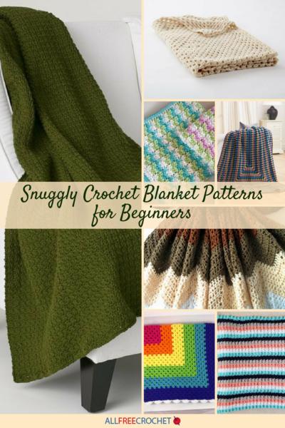4baf2a50741b01 25+ Snuggly Crochet Blanket Patterns for Beginners