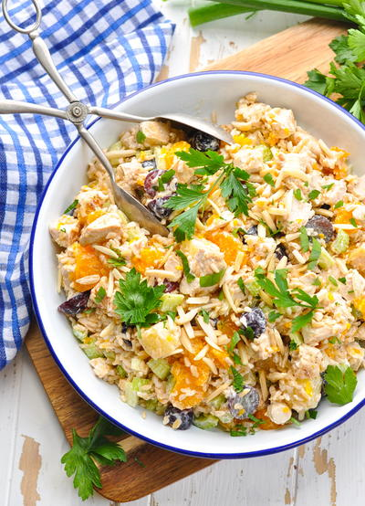 Southern Chicken and Rice Salad Recipe
