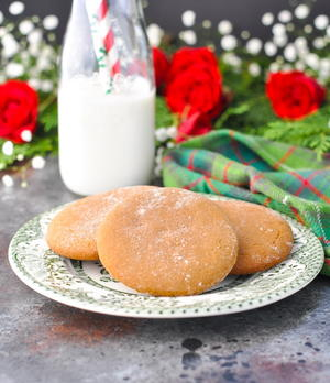 Old-Fashioned Gingerbread Cookie Recipe