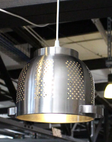 IKEA Hack: DIY Hanging Lampshade