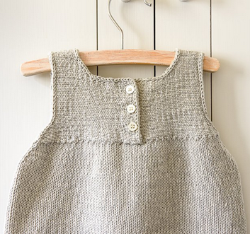Simple and Clean Baby Dress