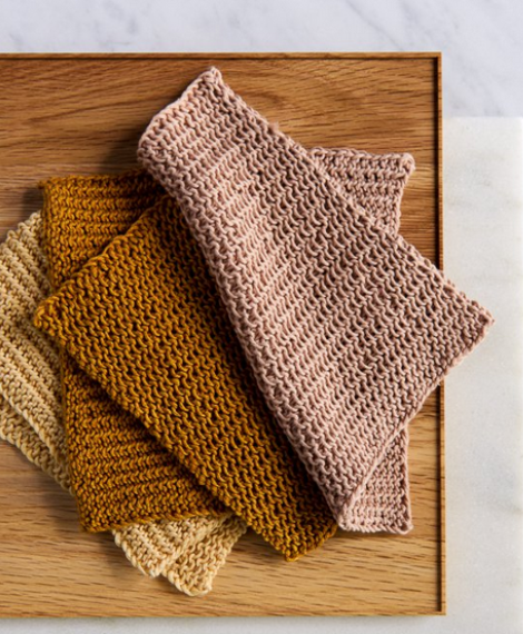 Close Knit Washcloth