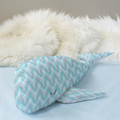 Wallace the Whale Plush Pattern