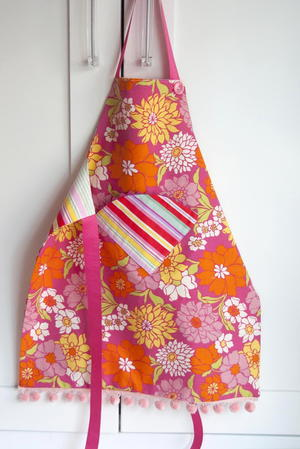 Fat Quarter Crafting Apron