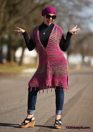 All Year Round Crochet Poncho