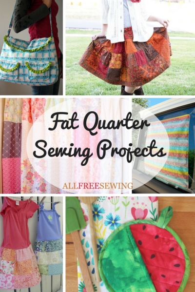 37 Fat Quarter Sewing Projects