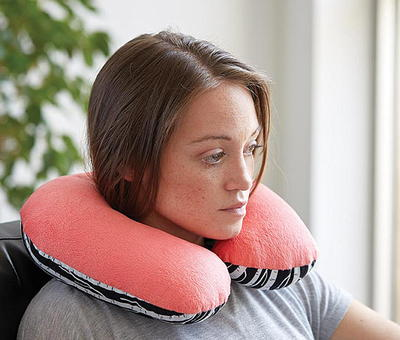 First Class DIY Travel Pillow