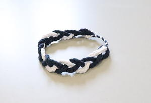 Braided T-shirt Crochet Headband