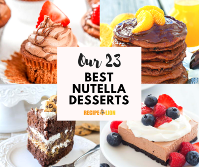 Our 23 Best Nutella Desserts