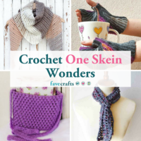 25 Crochet One Skein Wonders