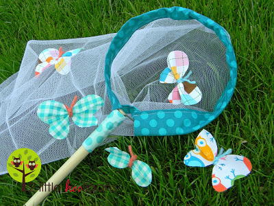 DIY Butterfly and Bug Catching Net