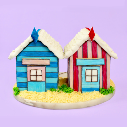 Super Cute Beach Hut Cookie House