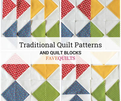Traditional Quilt Patterns and Quilt Blocks