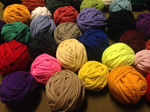 Homemade T-Shirt Yarn