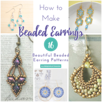 How to Make Beaded Earrings: 16 Beautiful Beaded Earring Patterns