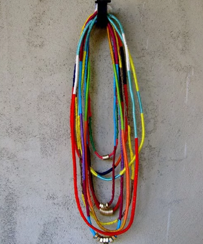 African-Inspired DIY Friendship Necklace