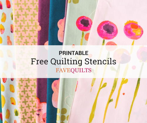 photograph about Free Printable Border Stencils titled 9 No cost Printable Quilt Stencils