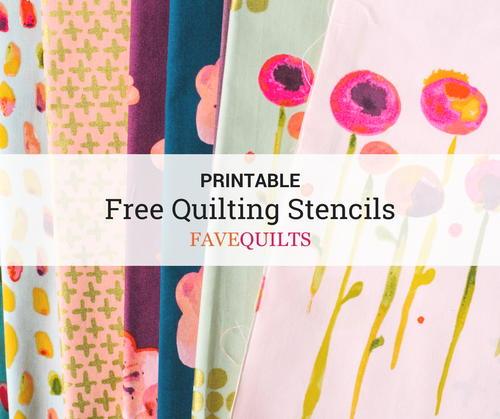 photograph regarding Free Printable Border Stencils named 9 Cost-free Printable Quilt Stencils