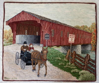 Covered Bridge in West Montrose, Celebration XVI