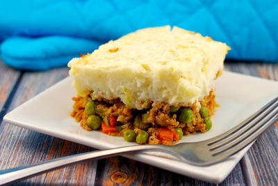 Healthy Turkey Shepherd's Pie