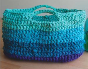 Handbag Handmade Women Bag Beach Bag Tote Crochet Purse Shopping bag Red Crochet Bag Slouchy Bag. Crochet Bag