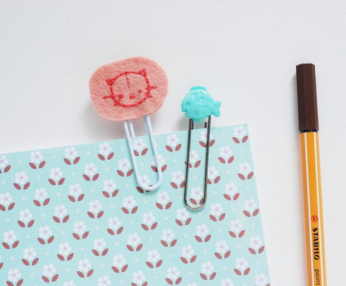Felt Embroidery DIY Paper Clip Craft