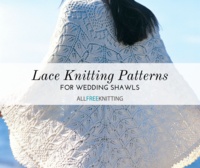 17 Wedding Shawls Knitting Patterns
