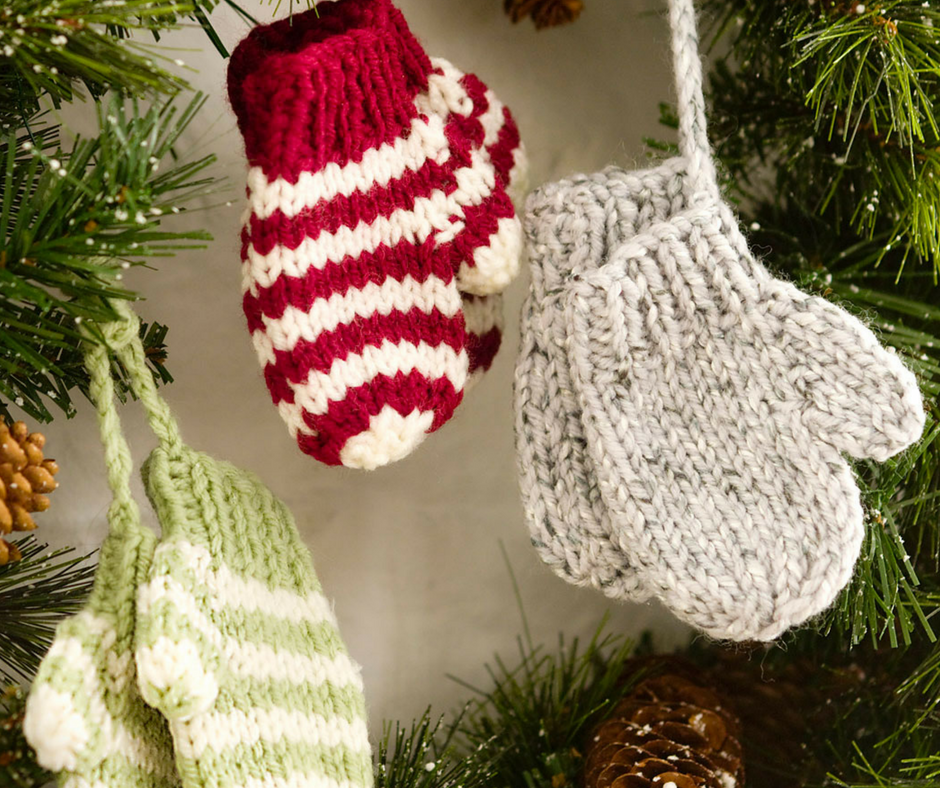 27 Knit Christmas Tree Ornament Patterns Allfreeknittingcom
