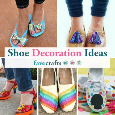 23 Shoe Decoration Ideas