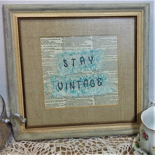 Stay Vintage Upcycle