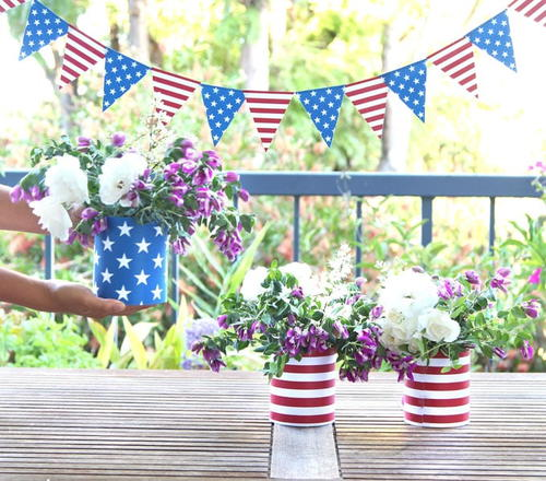 5 Minute DIY July 4th Decorations