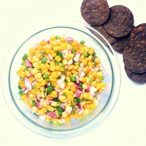 Easy Corn Salsa Recipe