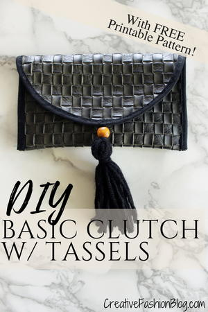 DIY Sunglasses Case and Simple Clutch