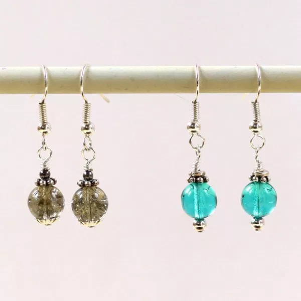 Simple Spacer Bead Earrings