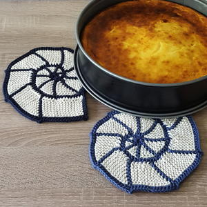 Ammonite Potholders