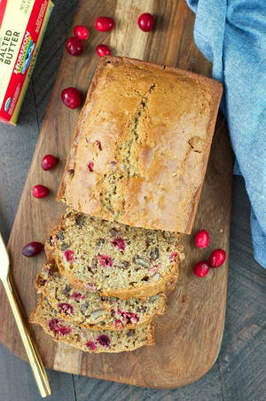 Fresh Cranberry Bread Recipe