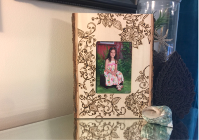 Boho DIY Picture Frame