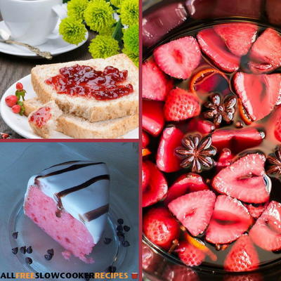 14 Easy Strawberry Recipes Allfreeslowcookerrecipes Com