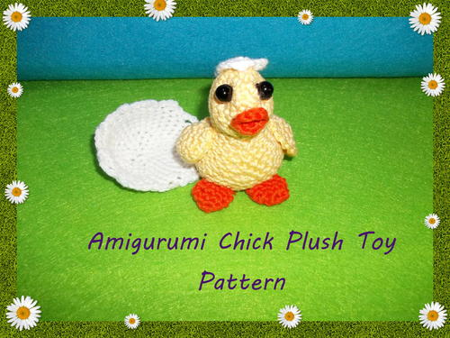 Amigurumi Chick Plush Toy