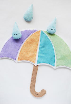 Raindrops Bean Bag DIY Kids' Game