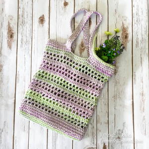 Lavender Fields Tote Bag