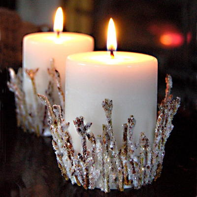 Bright Branches Candle Holder