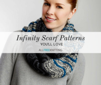 50+ Infinity Scarf Patterns You'll Love