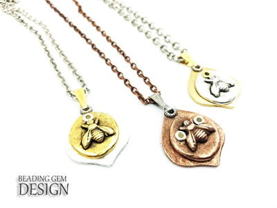 How to Rivet 2 Pendants Together